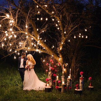 Гирлянда на свадьбу