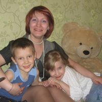 Моя семья (сестра, племянница и сын)