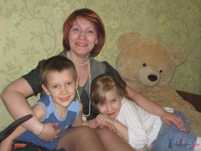 Моя семья (сестра, племянница и сын) - фото 30731 Надюша