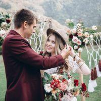 свадьба, бохо, абхазия, за границей, свадьба за границей, свадьба, свадьба в абхазии, бордовый, салатовый