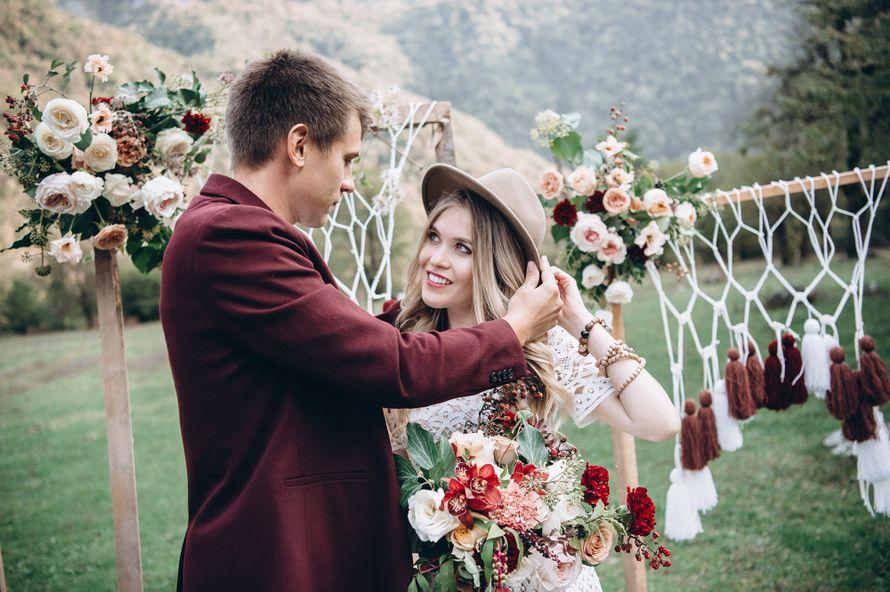 свадьба, бохо, абхазия, за границей, свадьба за границей, свадьба, свадьба в абхазии, бордовый, салатовый - фото 16450644 Маслова Виктория - фотограф