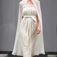 свадебное платье с показа мод