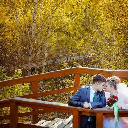 "Фотосъёмка неполного дня - пакет ""Осенняя свадьба"", 5 часов"