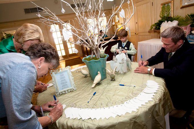 Как сделать деревья на свадьбу