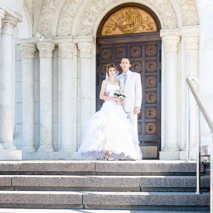 Слайд-шоу из 30-50 свадебных фотографий