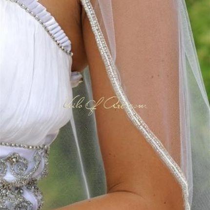Свадебная фата VE316