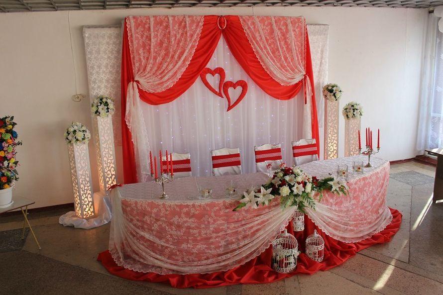 Драпировка свадебного стола своими руками пошагово 2