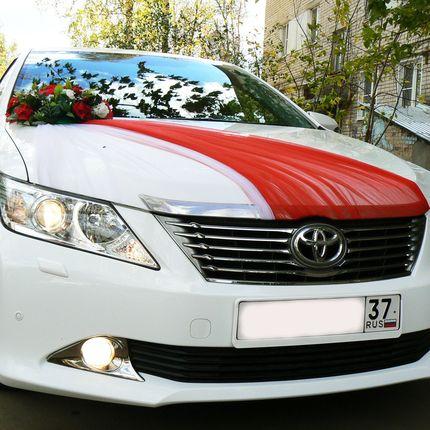 Свадебный кортеж Toyota Camry
