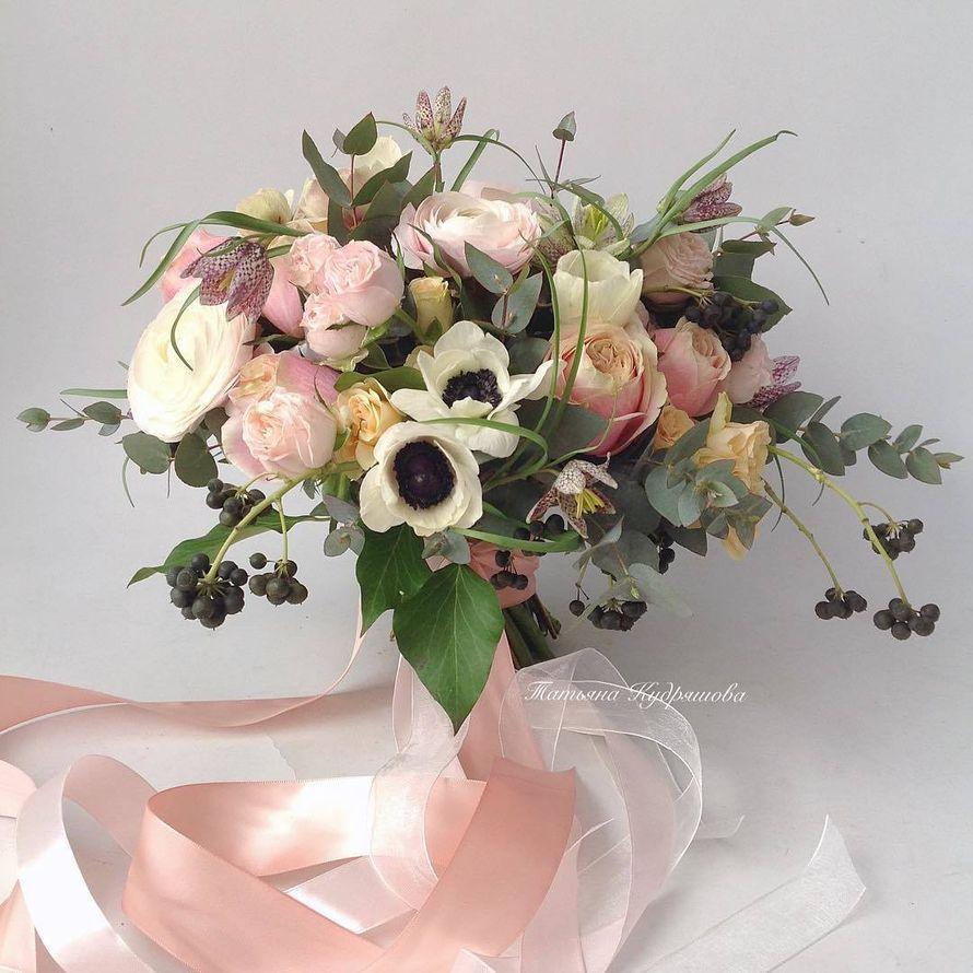Букет невесты - фото 17627596 Цветочная мастерская Татьяны Кудряшовой