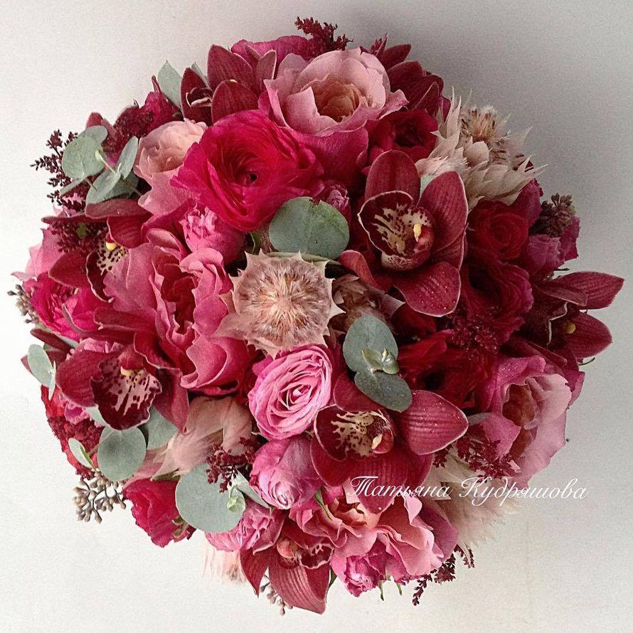 Букет невесты - фото 17627608 Цветочная мастерская Татьяны Кудряшовой