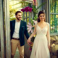 Свадебная прогулка в оранжерее Ботанического сада