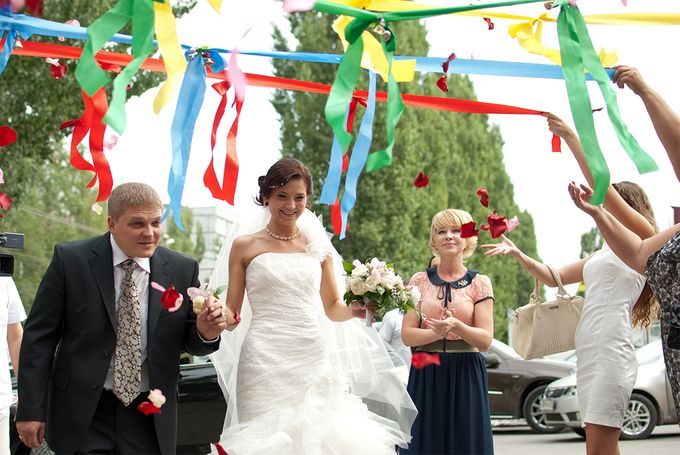 Конкурс на свадьбе ручеёк