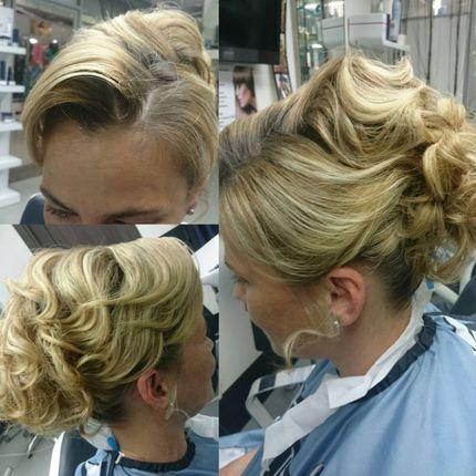 Причёска невесты + репетиция