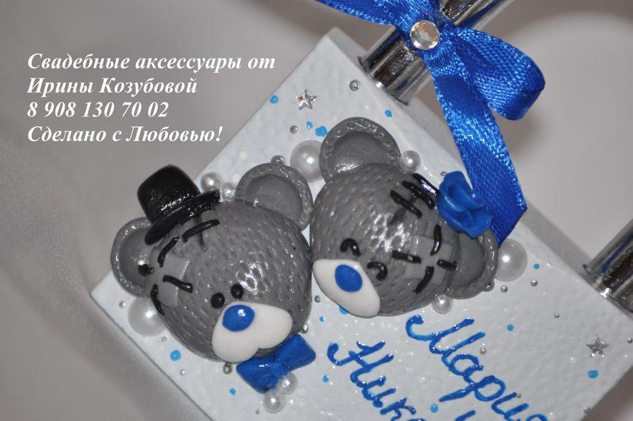 Фото 7378674 в коллекции Свадебные замочки - Свадебные аксессуары от Ирины Козубовой