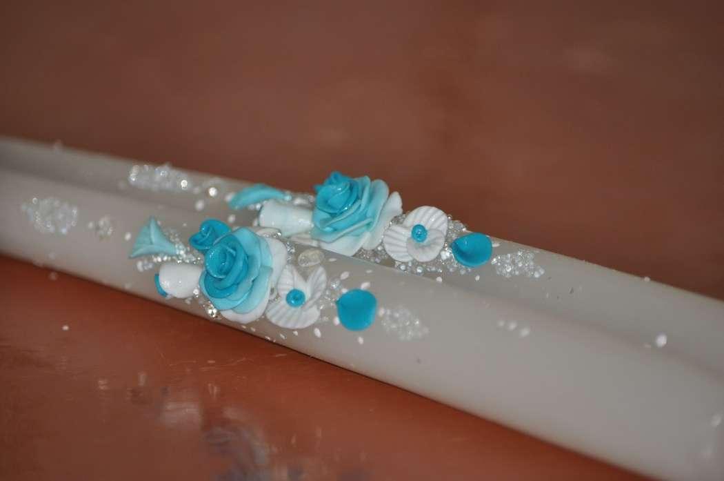Фото 7378736 в коллекции Свадебные свечи - Свадебные аксессуары от Ирины Козубовой