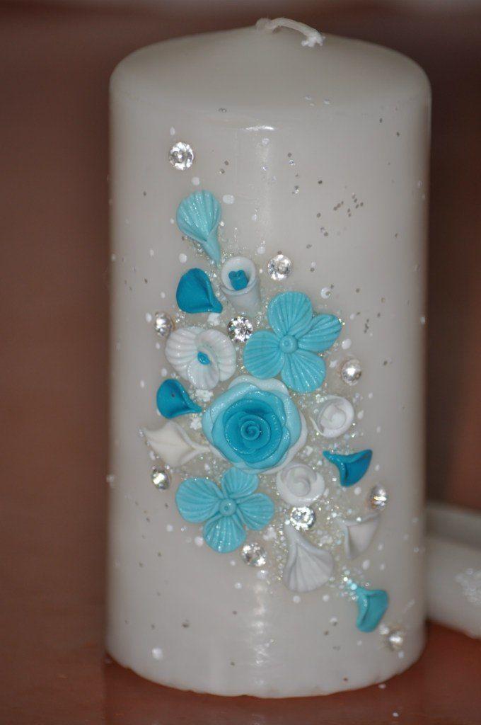 Фото 7378738 в коллекции Свадебные свечи - Свадебные аксессуары от Ирины Козубовой