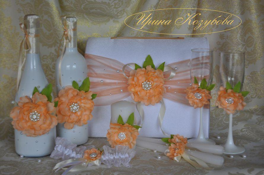 Фото 14665520 в коллекции Свадебные наборы - Свадебные аксессуары от Ирины Козубовой