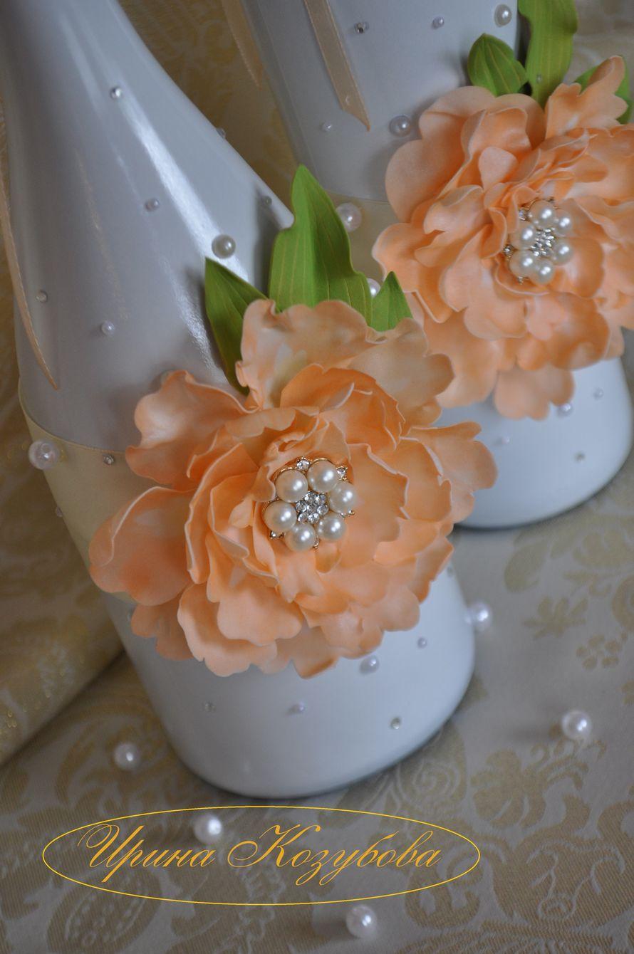 Фото 14665534 в коллекции Бутылки - Свадебные аксессуары от Ирины Козубовой