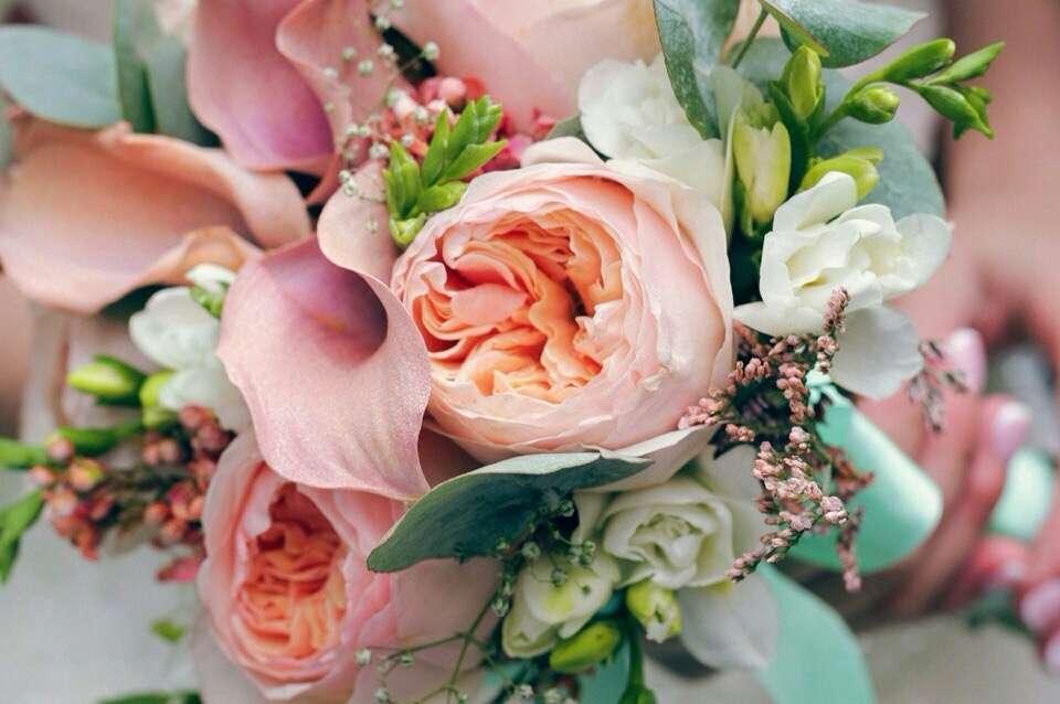 """Свадебный букет Даши - фото 7610814 Салон флористики и декора """"Розовый букет"""""""