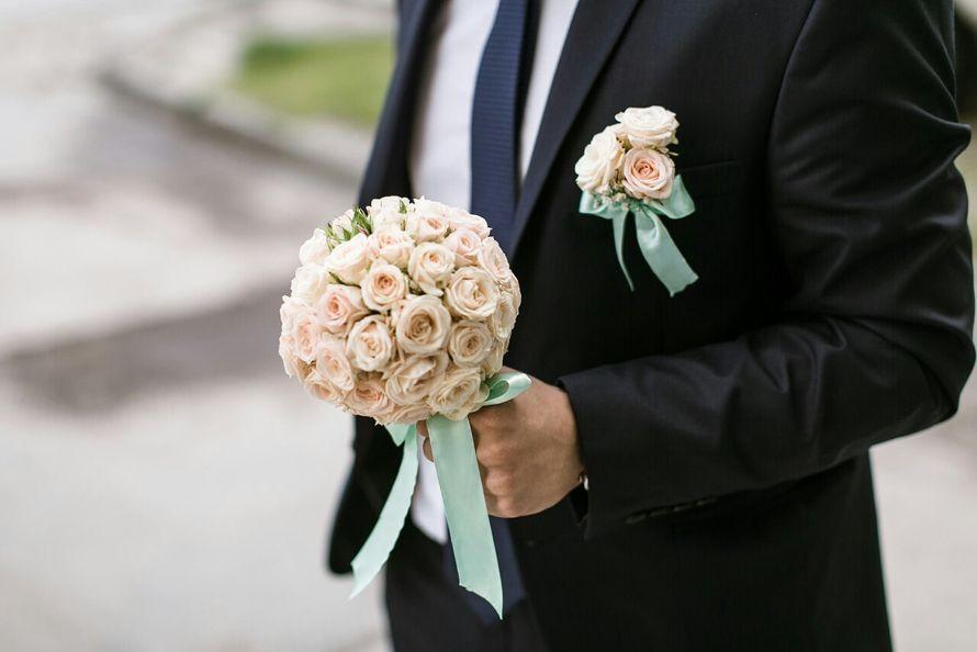 """Фото 8179746 в коллекции Свадебная флористика - Салон флористики и декора """"Розовый букет"""""""