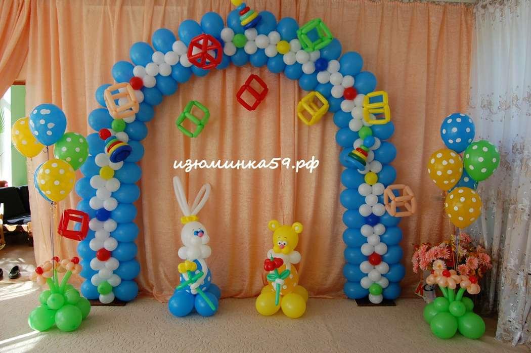 Как украсить арку в детском саду своими руками 59