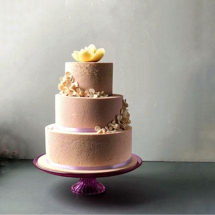 """Свадебный торт """"Велюр"""""""