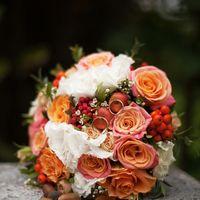 осень, осенняя свадьба, сентябрь, кусково, кольца, букет невесты, яблочки в букете