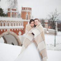 царицыно, зимняя свадьба, фотосессия зимой
