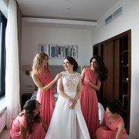 подружки невесты, платья для подружек, одинаковые платья, платья-трансформеры, сборы невесты, розовый