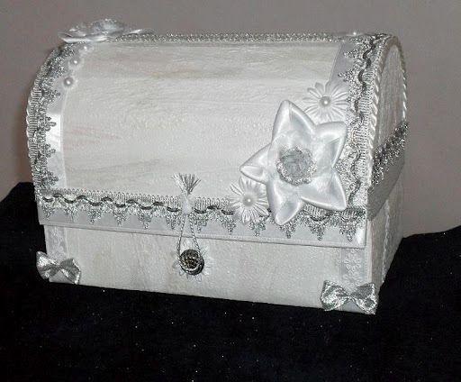 Сундук для свадьбы  пошагово фото