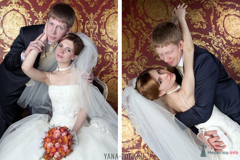 зимняя свадьба Киры и Дмитрия - фото 75789 Фотограф Яна Роджерс