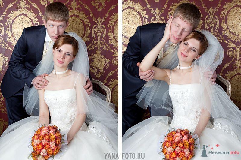 зимняя свадьба Киры и Дмитрия - фото 75791 Фотограф Яна Роджерс