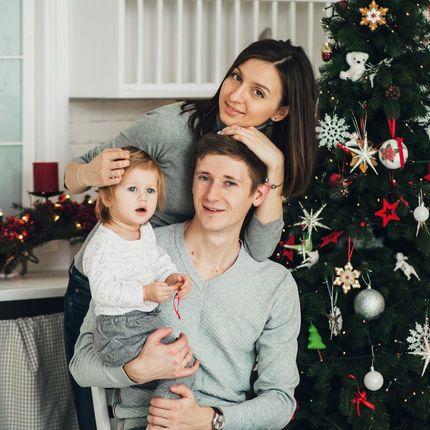 Семейная фотосъёмка 1-1,5 часа