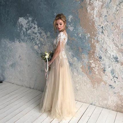 Образ для невесты (макияж + прическа)