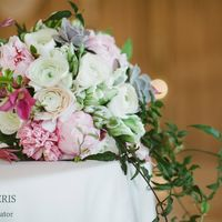 Букет невесты в садовом стиле
