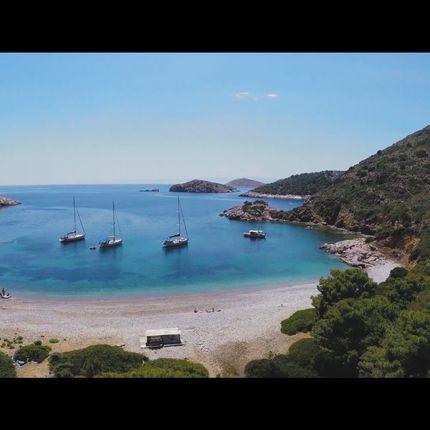 Свадебное путешествие на яхте в Греции