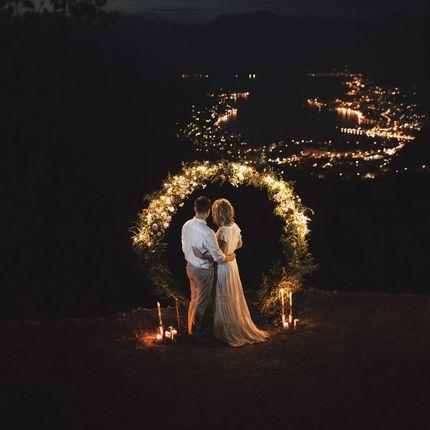 Ночная церемония в Черногории