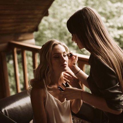 Пробный макияж невесты
