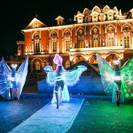Световое шоу экстрим балет Fireangels - 3 артиста