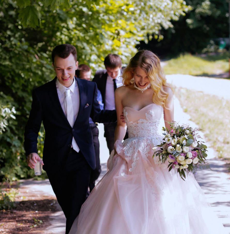 Воздушный букет невесты