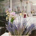 Свадьба в стиле рустик Эко-прованс Прованс Лаванда Лиловый Фиолетовый Розовый Оформление гостевого стола в стиле рустик