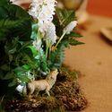 Свадьба в лесом стиле Свадьба в весеннем стиле Зеленая свадьба Бело-зеленая свадьба Бело-зелено-золотая свадьба Мох Сервировка