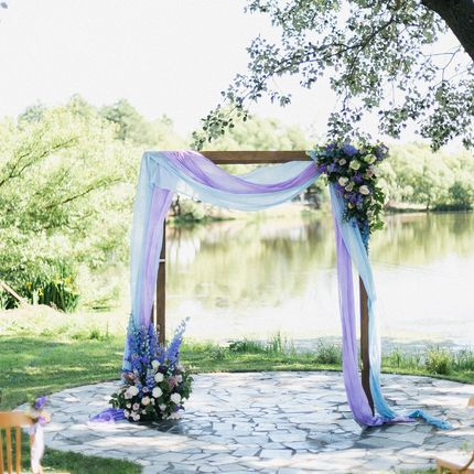Прямоугольная свадебная арка