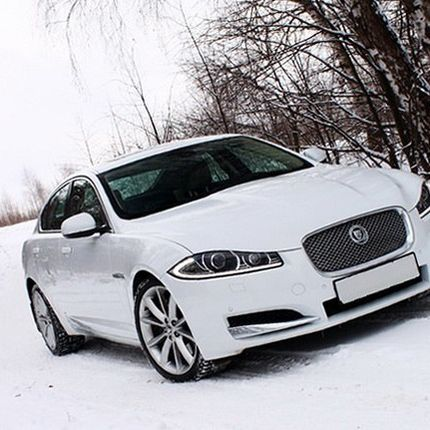 Jaguar XF белый - аренда