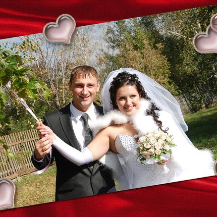 Свадебные фоторамки