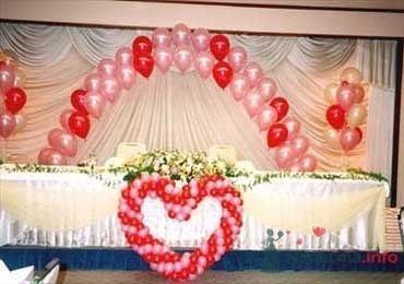 Сердце - фото 28618 Фабрика Шаров - оформление воздушными шарами