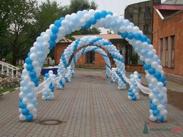 Арка - фото 28631 Фабрика Шаров - оформление воздушными шарами