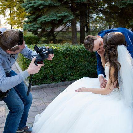 Видеосъёмка свадебного дня, клип и фильм