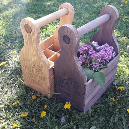 Деревянный ящик для лимонада, цена за 1 шт
