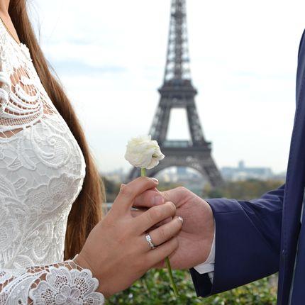 Свадебная символическая церемония в Париже